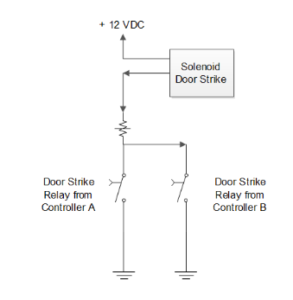 How To Control a single door from two door controller or two ... Hid Edge Eh Wiring Diagram on 5 pin relay wiring diagram, ge wiring diagram, sony wiring diagram, jvc wiring diagram, usb wiring diagram, everfocus wiring diagram, fluorescent wiring diagram, honeywell wiring diagram, headlight wiring diagram, metal halide wiring diagram, hps wiring diagram, panasonic wiring diagram, driving light wiring diagram, apc wiring diagram, led wiring diagram, von duprin wiring diagram, hot wiring diagram, bosch alternator wiring diagram, toshiba wiring diagram, samsung wiring diagram,